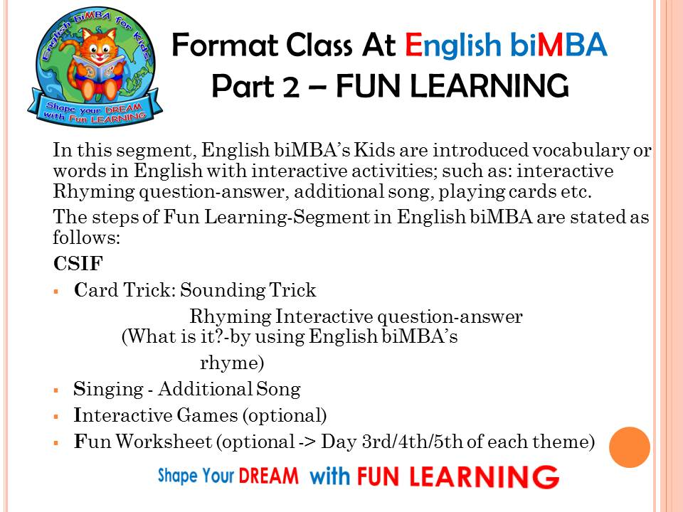 8. fun learning