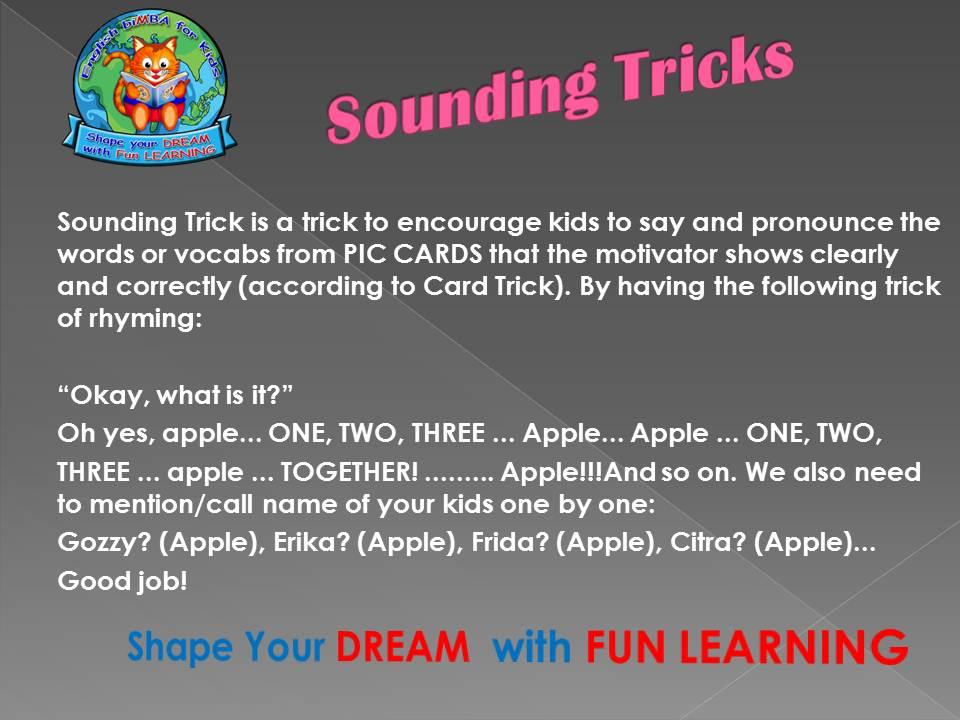 12. Sounding trick