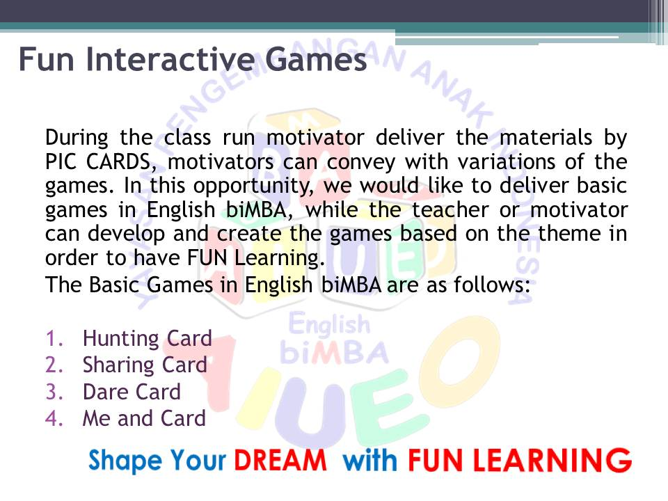 13. Fun Interactive Games