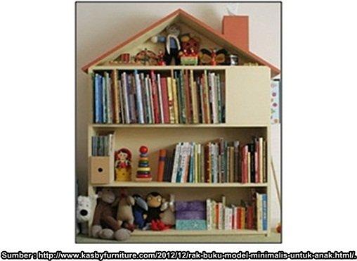rak buku bagi anak