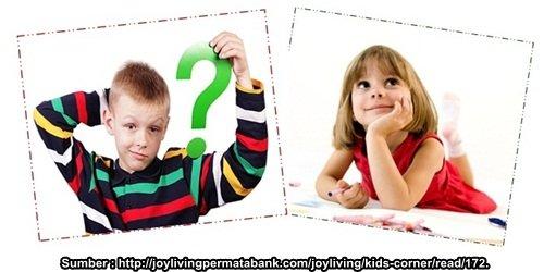 Kenapa Anak Banyak Bertanya