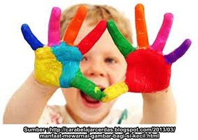 Manfaat Mewarnai Dan Menggambar Bagi Anak