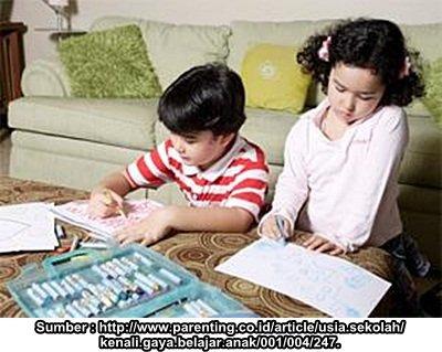 Kenali Gaya Belajar Anak Sebelum Menyampaikan Materi Bahasa Inggris
