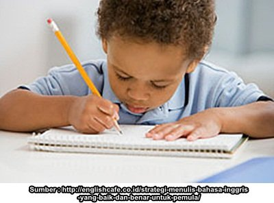 Anak dan Kegiatan Menulis