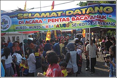 Pentas Baca biMBA-AIUEO se-Kota Semarang