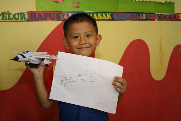 Menggambar Pesawat
