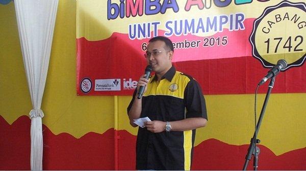 Sambutan Dr. Dimas Wibowo, Mitra biMBA Sumampir