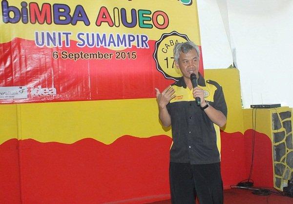 Sambutan Bpk.Wiwi Yunianto, Kepala Divisi Humas biMBA-AIUEO