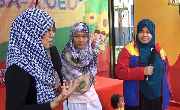 Sesi Parenting di Launching Unit Brimob Kedaung