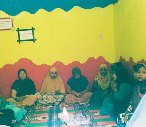 Pengajian Ibu-ibu pada launching biMBA Cilebut Barat