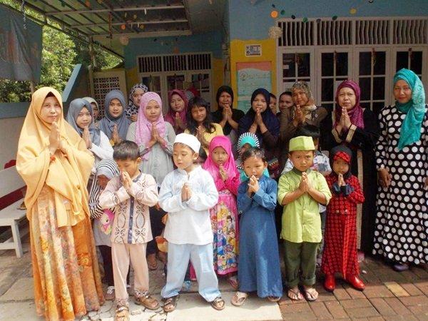 Silaturahmi Keluarga Besar biMBA Saun Pondok Rangon