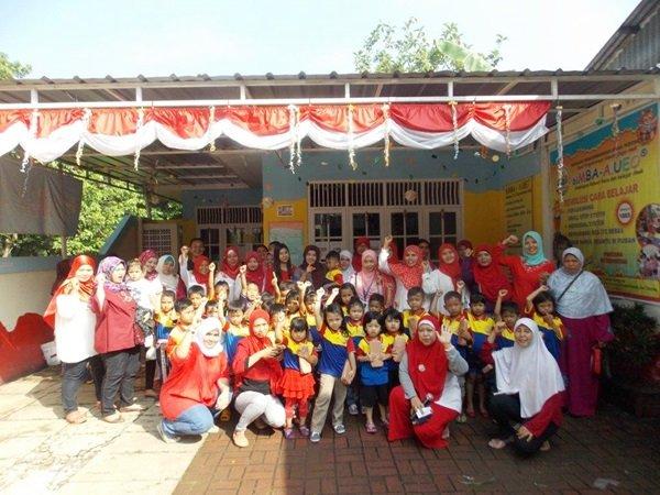 Perayaan Hari Kemerdekaan Ala biMBA Saun Pondok Rangon