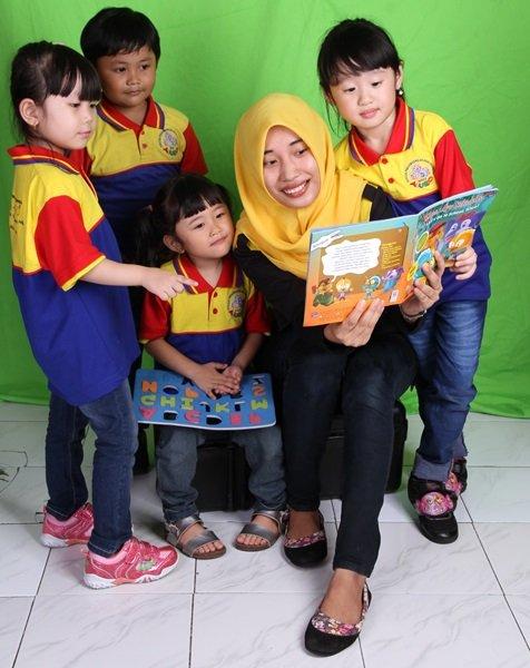 Minat baca Anak Indonesia