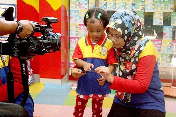 Hari Baca Anak Jakarta, NET.tv Liput biMBA-AIUEO