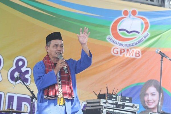H.Kasir, Kepala Kepariwisataan Kabupaten Bekasi Membuka Gebyar biMBA 2016