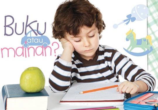 menghambat minat baca anak