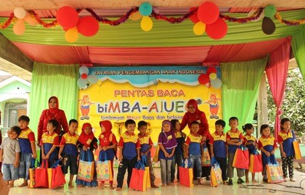 Foto bersama murid biMBA