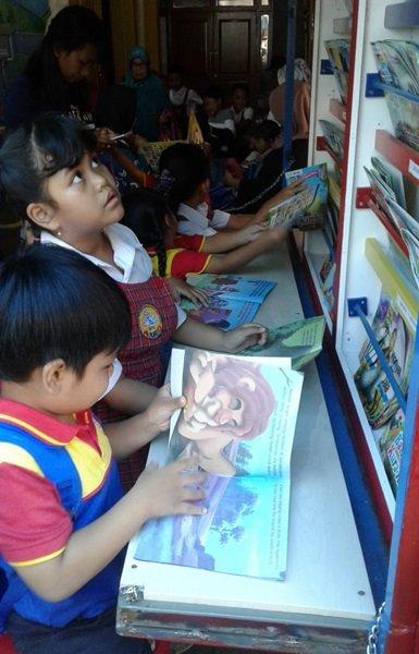 Minat Baca anak semakin tinggi dengan adanya Pusteling biMBA