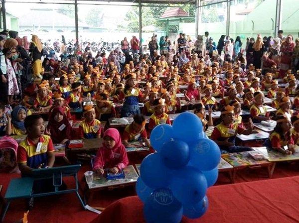 Antusiasme murid biMBA Kreo Larangan mengikuti kegiatan pentas baca