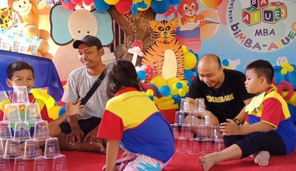 Menguji Kekompakan Orangtua dan Murid biMBA Panjer Denpasar