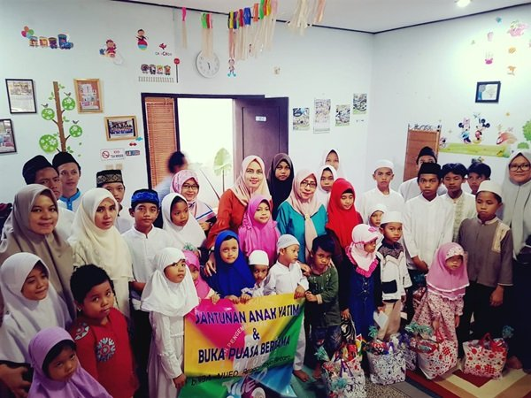 Santunan Anak Yatim di biMBA Rengas Jaya Bintaro