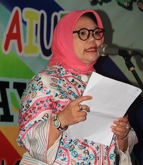 Sambutan Mitra Unit Halim Raya, Dewi Handayani