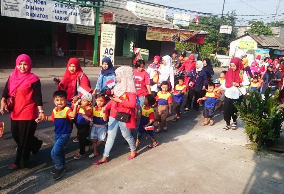 Karnaval Kemerdekaan Bersama biMBA Paninggilan Utara