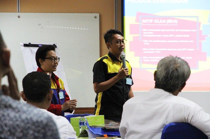Sosialisasi biMBA di Holcim Indonesia