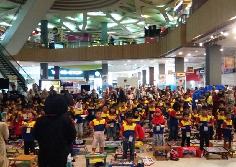 Antusiasme murid biMBA BBC Golden Vienna mengikuti kegiatan pentas baca