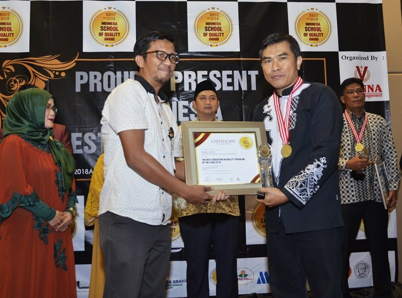 biMBA-AIUEO terpilih sebagai 'The Best Education in Quality Program of The Year 2018'