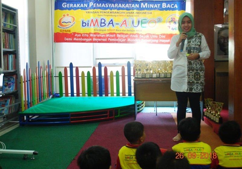Sambutan Kasie Promosi dan Pelayanan Perpusda Sumatera Barat, Kusuma Dewi
