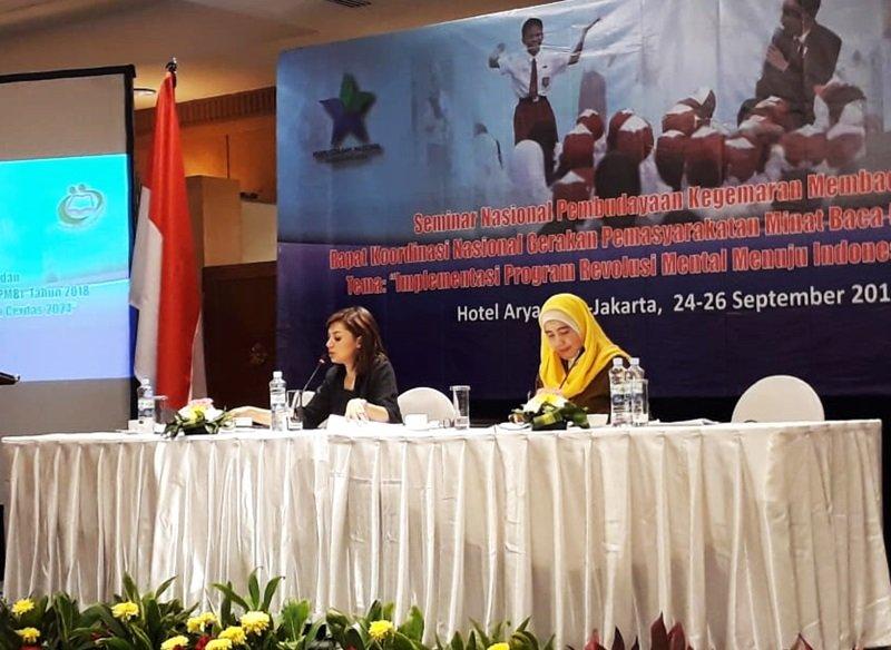Duta Baca 2018, Najwa Shihab sebagai narasumber