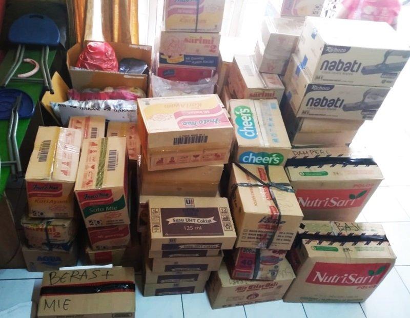 Donasi untuk masyarakat Donggala dan Palu
