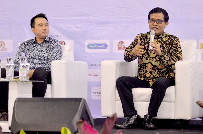 Penggagas metode biMBA-AIUEO, Bambang Suyanto memberikan pemahaman terkait Minat belajar anak