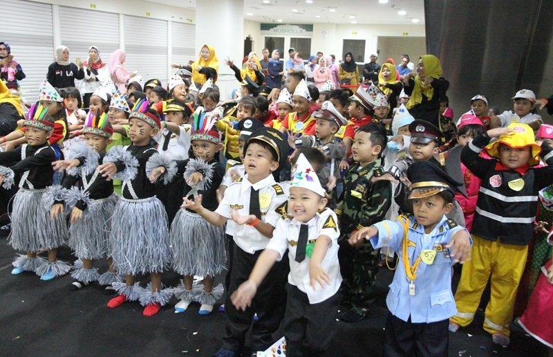 Antusiasme murid biMBA Nimun Raya mengikuti kegiatan