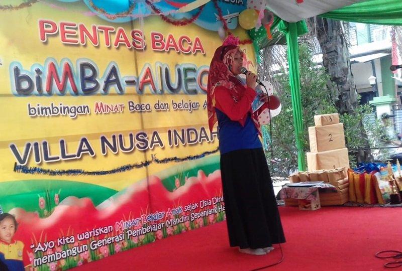 Sambutan Kepala Unit biMBA Villa Nusa Indah 5