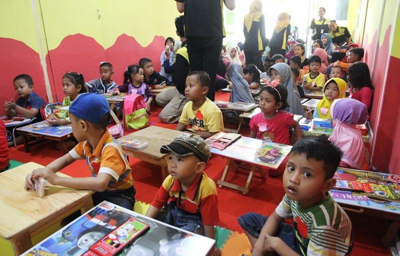 Suasana launching biMBA Pasar Kemis