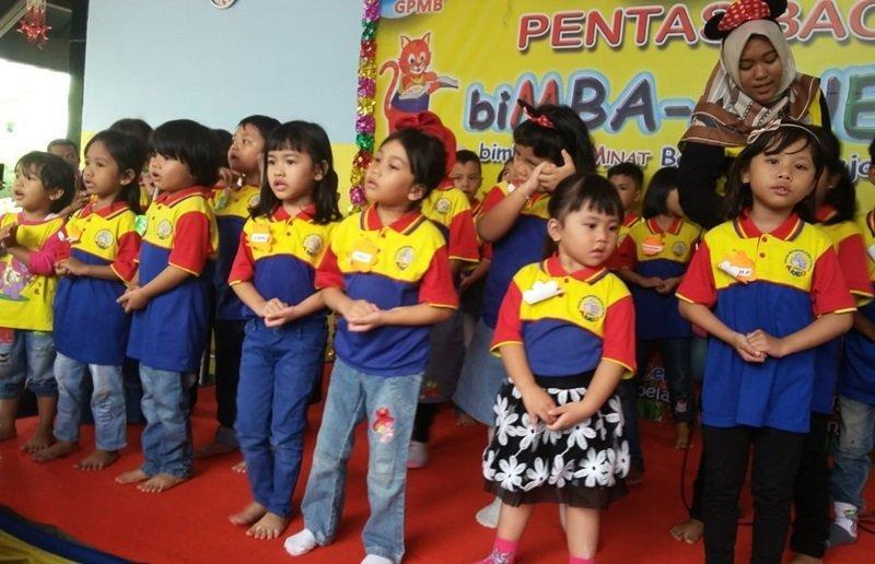 Bernyanyi lagu-lagu biMBA