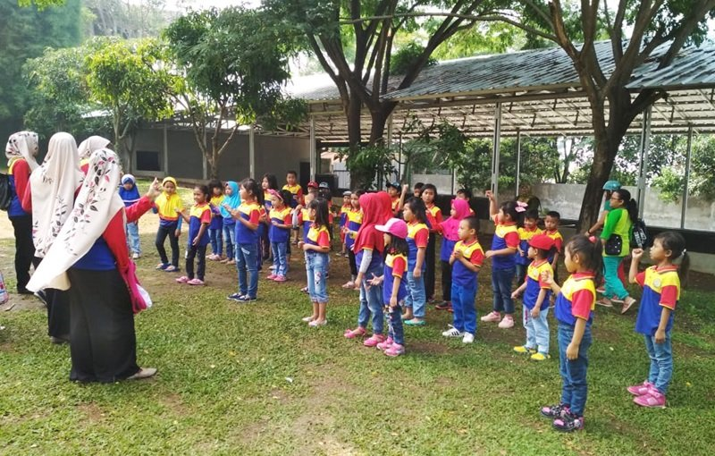 Antusiasme murid biMBA Mekar Sari mengikuti kegiatan