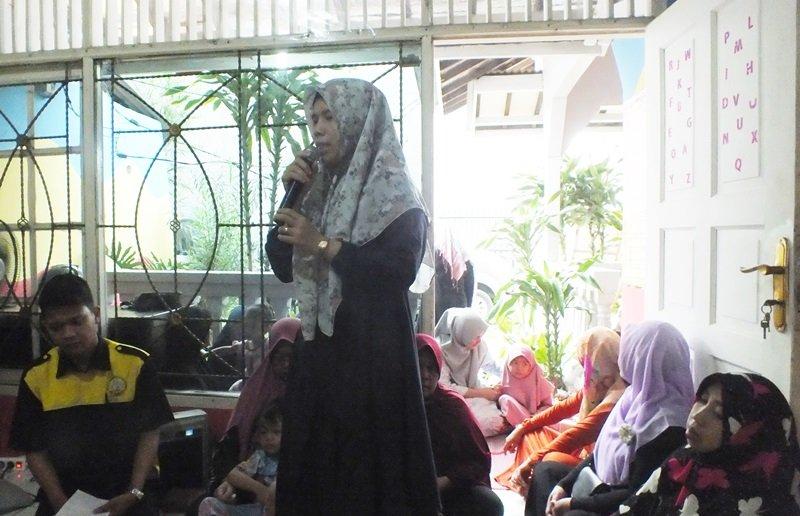 Sambutan pengelola unit biMBA Pondok Pinang, Siti Nazulah