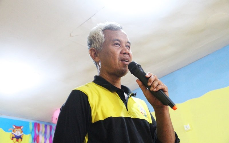 Sambutan Wiwi Yunianto, perwakilan biMBA Pusat