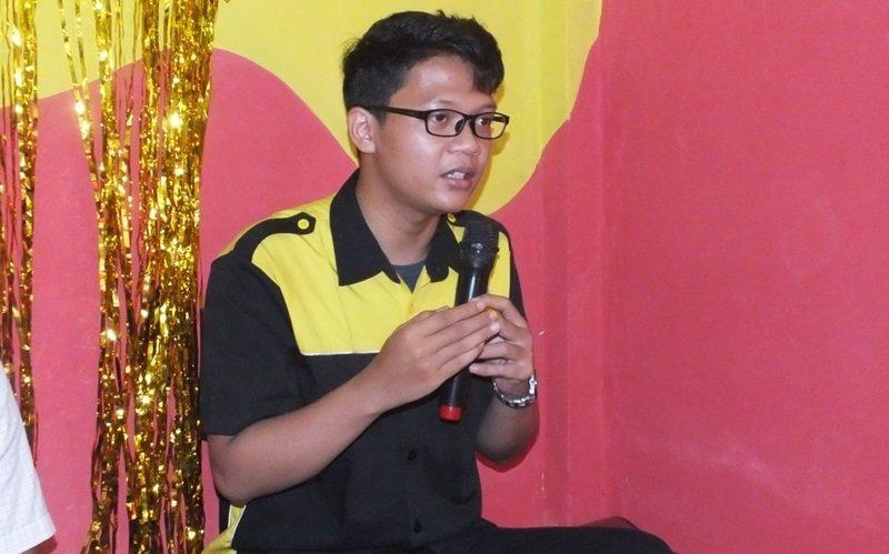 Sosialisasi kebiMBAan oleh Muhammad Hilmi Afifi, perwakilan biMBA Pusat