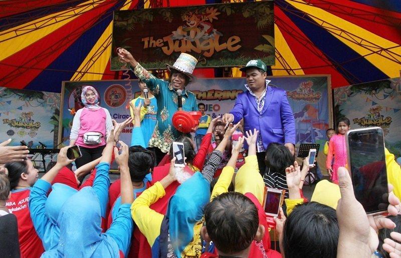 Pak Tarno di Family Gathering 3 Unit biMBA