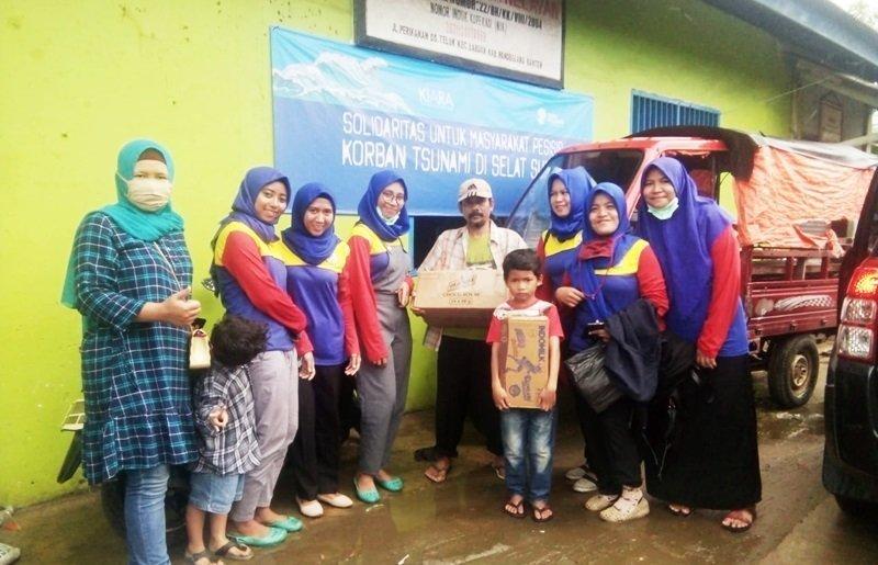 biMBA Beri Bantuan dan Motivasi Untuk Korban Tsunami