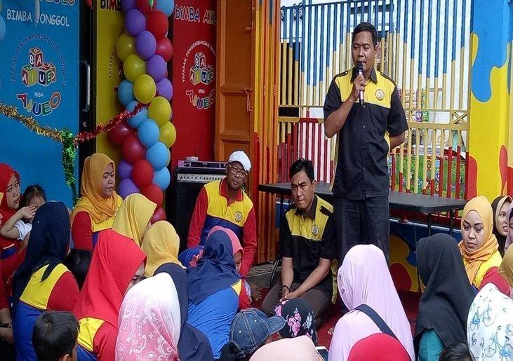 Sambutan perwakilan biMBA-AIUEO pusat, bapak Jamaludin