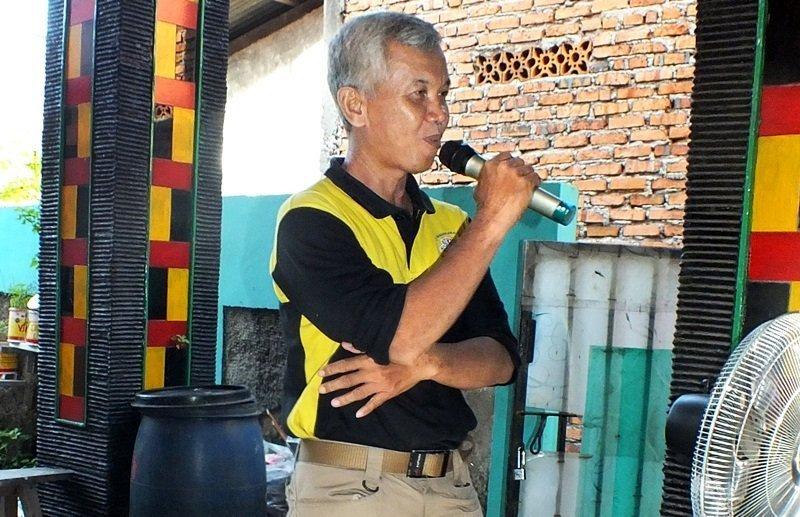 Sosialisasi kebimbaan yang dipaparkan oleh perwakilan biMBA-AIUEO Pusat, Wiwi Yunianto