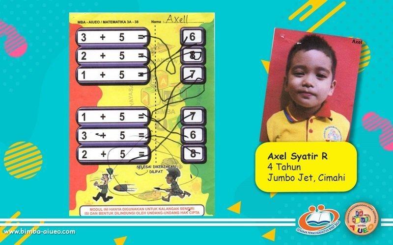 Permainan Modul Matematika Axel Syatir