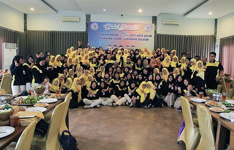 Foto bersama para motivator, KU, mitra dan perwakilan biMBA Pusat.