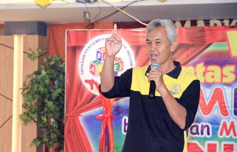 Sambutan oleh Bpk Wiwi selaku perwakilan biMBA Pusat.