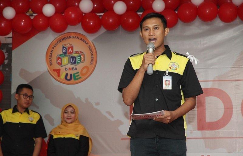 Sambutan ketua pelaksana, Arif Junaidi.